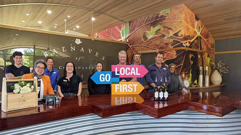 Doug, Kirsty and Pete, Owners, Balnaves of Coonawarra