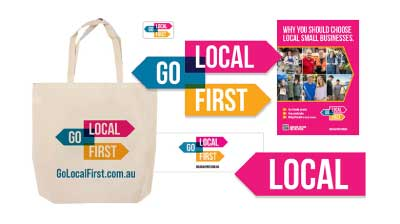 NEW GO LOCAL FIRST<br />supporter kits