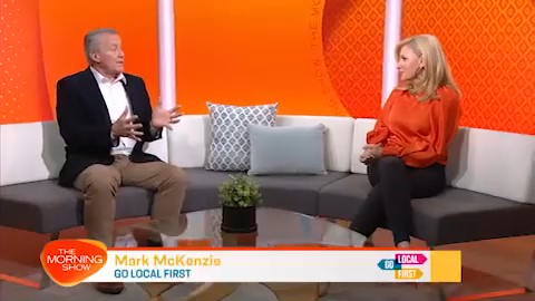 Mark McKenzie, joined Kaz on the Today Show